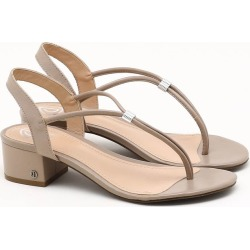 Sandália Ajustável Bege Taupe - 36 found on Bargain Bro India from Dumond for $51.42