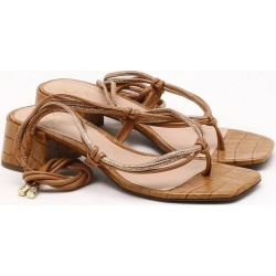 Sandália Croco Anis - 34 found on Bargain Bro India from Dumond for $69.79