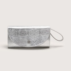 Bolsa Clutch Couro Zebra Metallo Prata found on Bargain Bro India from Capodarte for $28910.00