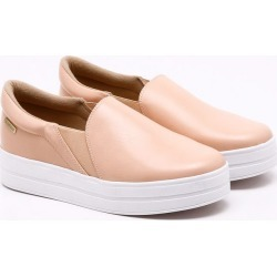 Tênis Comfy Couro Rosa Pêssego found on Bargain Bro Philippines from Dumond for $58.76
