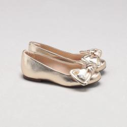 Sapatilha Bambina Metalizada Ouro found on Bargain Bro Philippines from Capodarte for $10780.00