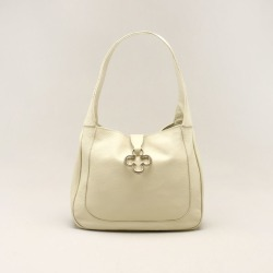 Bolsa Hobo Couro Vanilla - M found on Bargain Bro India from Capodarte for $33810.00