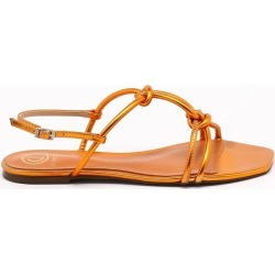 Rasteira Metalic Toffee found on Bargain Bro India from Dumond for $93.06