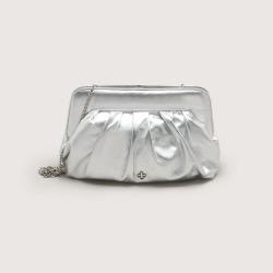 Bolsa Shoulder Bag Couro Metalic Prata found on Bargain Bro from Capodarte for USD $10,382.51