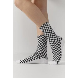 UO Checkerboard Crew Socks - Assorted ALL at Urban Outfitters found on Bargain Bro UK from Urban Outfitters (UK)
