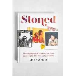 """Buch Stoned: Photographs and Treasures from Life with the Rolling Stones"""" by Jo Wood"""