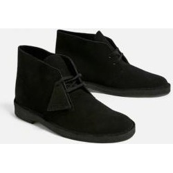 Clarks Black Suede Desert Boots found on MODAPINS from Urban Outfitters (UK) for USD $88.95