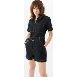 UO Moonshine Denim Playsuit - Black XS at Urban Outfitters found on Bargain Bro UK from Urban Outfitters (UK)
