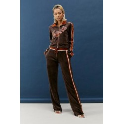Jaded London Brown Velour Joggers - Brown UK 6 at Urban Outfitters found on MODAPINS from Urban Outfitters (UK) for USD $76.38