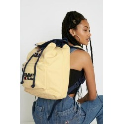 Tommy Jeans Yellow Heritage Backpack - yellow at Urban Outfitters