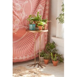 Birdy Side Table - Gold ALL at Urban Outfitters found on Bargain Bro UK from Urban Outfitters (UK)