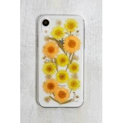 Pressed Sunflower iPhone XR Case