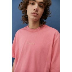 adidas Pink Ribbed Crew Neck T-shirt found on Bargain Bro India from Urban Outfitters (FR) for $52.00