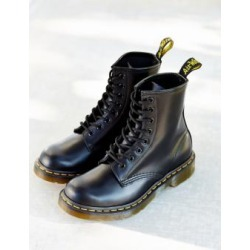 Dr. Martens Smooth 8-Eyelet Boots - Black UK 7 at Urban Outfitters found on Bargain Bro UK from Urban Outfitters (UK)