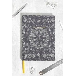 Ohh Deer - Agenda motif tapisserie bleu marine, exclusivité UO found on MODAPINS from Urban Outfitters (FR) for USD $23.40