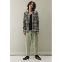 BDG Acid-Wash Green Bow Jeans - Green 28W 30L at Urban Outfitters found on Bargain Bro UK from Urban Outfitters (EU)