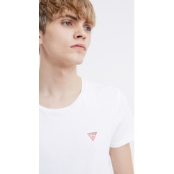 GUESS White Crew Neck T-Shirt found on MODAPINS from Urban Outfitters (UK) for USD $21.60