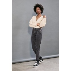 BDG Mom Black Recycled Cotton Jeans - Black 27W 28L at Urban Outfitters found on Bargain Bro UK from Urban Outfitters (UK)