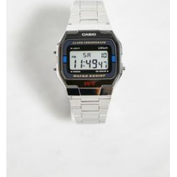 Casio A163WA-1QES Digital Watch - Silver ALL at Urban Outfitters found on MODAPINS from Urban Outfitters (UK) for USD $45.85