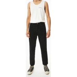 BDG Dad Black Corduroy Trousers - Black 28W 32L at Urban Outfitters found on Bargain Bro UK from Urban Outfitters (UK)