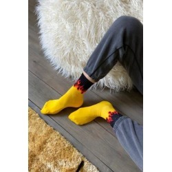UO Black Flame Socks - Black ALL at Urban Outfitters found on Bargain Bro UK from Urban Outfitters (UK)