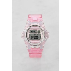 Casio - Montre Baby-G BG-169R-4ER transparente rose found on MODAPINS from Urban Outfitters (FR) for USD $128.70