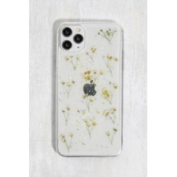 Recover White Glitter Flower iPhone 11 Pro Max/XS Max Phone Case - White ALL at Urban Outfitters