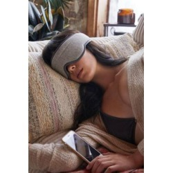 Thumbs Up Music Sleep Mask - grey at Urban Outfitters
