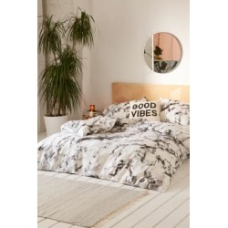 Marble Print Duvet Cover Set - Black KING at Urban Outfitters found on Bargain Bro UK from Urban Outfitters (EU)