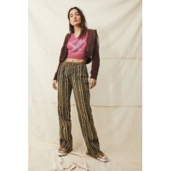 Jaded London Distressed Acid Wash Stripe Jeans - Assorted 26 at Urban Outfitters found on MODAPINS from Urban Outfitters (UK) for USD $94.44