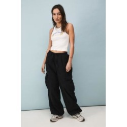 BDG Black Parachute Cargo Pants - Black S at Urban Outfitters found on Bargain Bro UK from Urban Outfitters (EU)