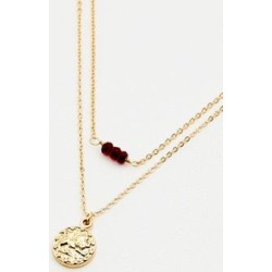 Leo Zodiac Sign Gold Necklace - gold at Urban Outfitters