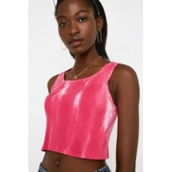 UO Mia Tie-Dye Cut-Off Vest found on MODAPINS from Urban Outfitters (UK) for USD $32.92