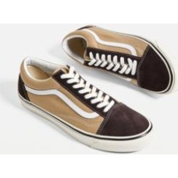 Vans - Baskets Old Skool chocolat et kakiu00a0