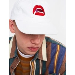 Post Details Lollipop White Cap - white at Urban Outfitters