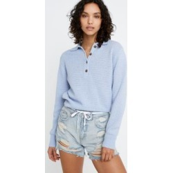 UO Ricky Waffle Knit Long-Sleeve Polo Shirt found on MODAPINS from Urban Outfitters (UK) for USD $53.37