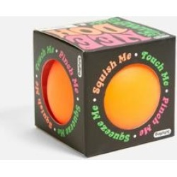 Nee-Doh Super Stress Ball - orange at Urban Outfitters