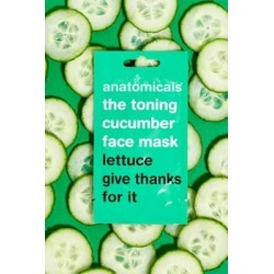 Anatomicals The Toning Cucumber Face Mask - Assorted ALL at Urban Outfitters found on MODAPINS from Urban Outfitters (EU) for USD $2.75