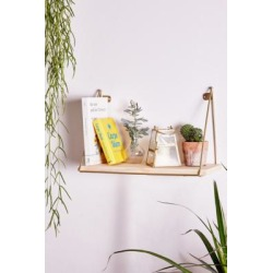 Ari Single Shelf - Gold ALL at Urban Outfitters found on Bargain Bro UK from Urban Outfitters (UK)