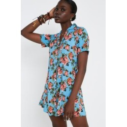 Urban Renewal Remnants Blue Rose Tea Dress found on MODAPINS from Urban Outfitters (UK) for USD $53.37