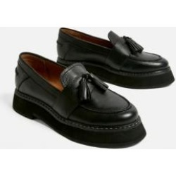 UO City Leather Loafers found on MODAPINS from Urban Outfitters (UK) for USD $73.70