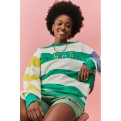 Benetton Colour-Blocked Stripe Sweatshirt - Assorted L at Urban Outfitters found on MODAPINS from Urban Outfitters (EU) for USD $109.27