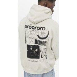 UO - Sweat à capuche grège Program