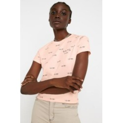Vans Breast Cancer Awareness Baby T-Shirt - beige XS at Urban Outfitters