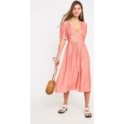 NARRATED Pink Midi Tea Dress found on MODAPINS from Urban Outfitters (UK) for USD $41.93