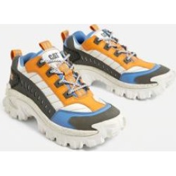 CAT Footwear Intruder Blue and Orange Trainers found on MODAPINS from Urban Outfitters (UK) for USD $108.01