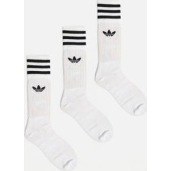 Adidas Originals - Lot de 3 paires de chaussettes blanches found on MODAPINS from Urban Outfitters (FR) for USD $22.10