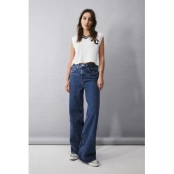 BDG Dark Vintage Wash Wide-Leg Puddle Jeans - Blue 27W 30L at Urban Outfitters found on Bargain Bro UK from Urban Outfitters (UK)