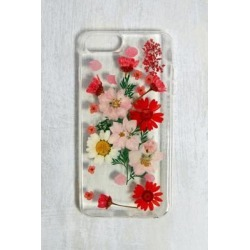 Pressed Flower iPhone 6/7/8 Plus Case - red at Urban Outfitters found on Bargain Bro UK from Urban Outfitters (UK)