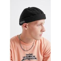 Urban Outfitters - Schwarze Dockermütze aus Fleece